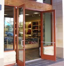 store front glass doors double exterior commercial glass doors doors storefront