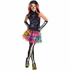 monster high skelita calaveras child halloween costume walmart com