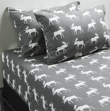 fox motocross bedding printed flannel sheet set grey moose sheets bedding for