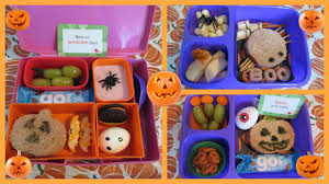 halloween bento lunches october youtube