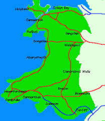 where is wales on the map anglesey wales tourist information