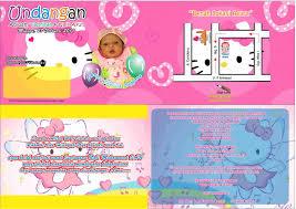 kumpulan undangan tasmiyah aqiqah umank creative design print