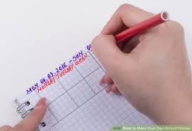 your own planner how to make your own school planner with pictures wikihow