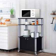 kitchen pantry storage cabinet microwave oven stand with storage microwave rack stand rolling storage cart kitchen utensil