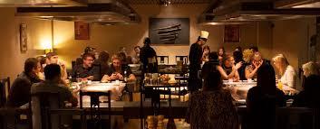 japanese restaurant cook at table japanese restaurant leeds