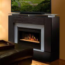corner electric fireplace tv stand dark cherry finish furnitech