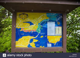 Sitka Alaska Map Map And Directory Of The Town Of Sitka Alaska Posted On The