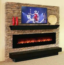 Recessed Electric Fireplace Recessed Wall Mount Electric Fireplace Chic And Modern Wall Mount