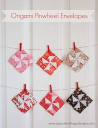 how to fold an envelope origami pinwheel envelopes a spoonful of sugar