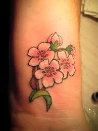 flower tattoos for girls wrist photo 2 2017 real photo
