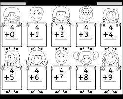 addition math worksheets for kindergarten printable dom koogra