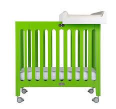 Mini Crib Size by Alma Mini Urban Crib Bloom Horne