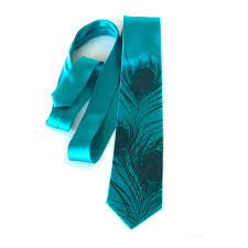 teal blue peacock tie peacock feather men u0027s silk necktie