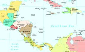 Map Of South And Central America Maps Of The Americas Map Of North America With Labels Filemap Of