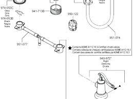 bathroom faucet parts names stunning kitchen sink parts names