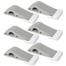 decorative door stops amazon com door stopper 6 pack set bonus holders u0026 ebook