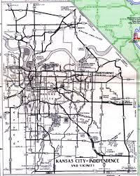 Map Of Ks Missouri Highways Unofficial