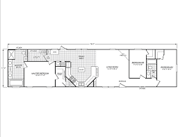 House Plans For A View View The Horseshoe Bay Floor Plan For A 1292 Sq Ft Palm Harbor