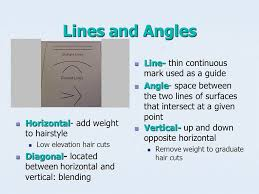 trimming hair angle cut hair cutting reference points are used to establish design