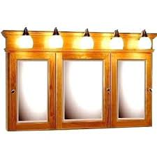 recessed medicine cabinet with lights medicine cabinet with light fixture rumorlounge club
