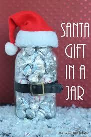 santa gift in a jar santa gifts budgeting and gift