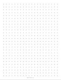 grid layout for 8 5 x 11 customizable dot paper stem sheets