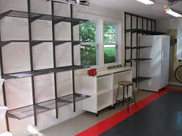 Garage Design Garage Finish Work By Design Source Finished With Tile Floor