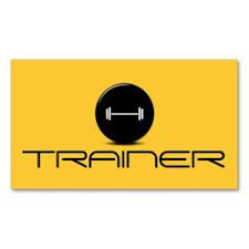 Fitness Business Card Template Personal Trainer Exercise Gym Fitness Business Business Cards