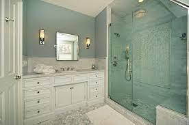 White Carrera Marble Bathroom - carrara marble shower surround design ideas