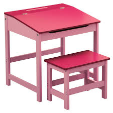 blue writing desk children girls boys desk and chair set blue amazon co uk toys