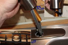installing moen kitchen faucet how to install a moen kitchen faucet