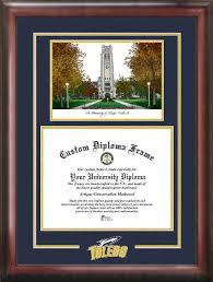 of south carolina diploma frame of toledo rockets diploma frames bell