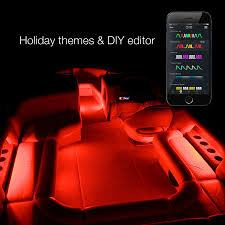 app controlled car lights 12 strip xkglow xkchrome ios android app bluetooth control