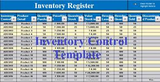 Inventory Tracking Excel Template Free Inventory Template In Ms Excel Excel Data