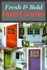 Colors For Front Doors Front Doors Chic Statement Front Door For Home Ideas Statement