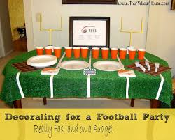 Super Bowl Decorating Ideas 29 Best Football Decorations Images On Pinterest Cookie Cutters