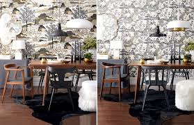 Chic Dining Room by High Low Scandi Chic Dining Room Style At Home