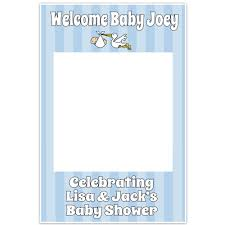 it s a boy baby shower it s a boy baby shower selfie frame photo booth prop poster paper