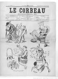 corbeau bureau le corbeau journal anti clérical hebdomadaire illustré 1887 06