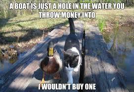 Cat Buy A Boat Meme - image 486160 i should buy a boat cat know your meme