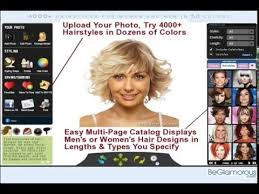 hair color simulator try on virtual hairstyles upload your photo change hair color
