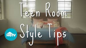 how to decorate a teen girls u0027 bedroom video hgtv