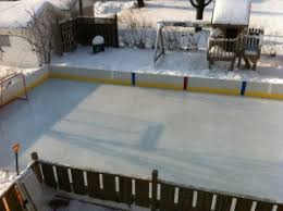 Backyard Ice Rink Plans by Finding A Purpose For Your Old Garage Door Panels Garage Door Ice