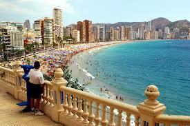 Blue Flag Beach Blue Flag Beaches Benidorm Alicante Spain