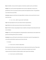 shurd sample of legal research and sample letter to client on grandp u2026
