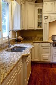 cream colored kitchen cabinets with brown glaze kitchen decoration