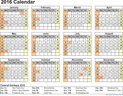 2015 federal calendar best 2017