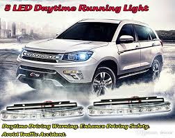 best led daytime running lights car drl led daytime running light car headlight driving safety auto