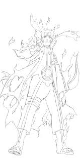 naruto sage of six paths mode sketch by johnny wolf on deviantart