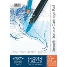 smooth surface drawing pads winsor u0026 newton